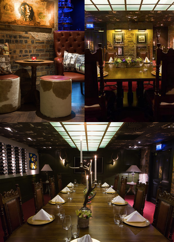 Private Dining at Kyloe Steak Restaurant, Edinburgh
