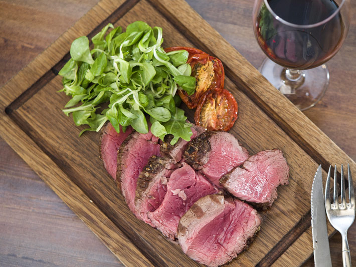 Knowing meat, knowing you: a guide to matching food and wine