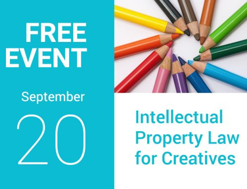 Event on 20 September 2017: Intellectual Property Law for Creatives